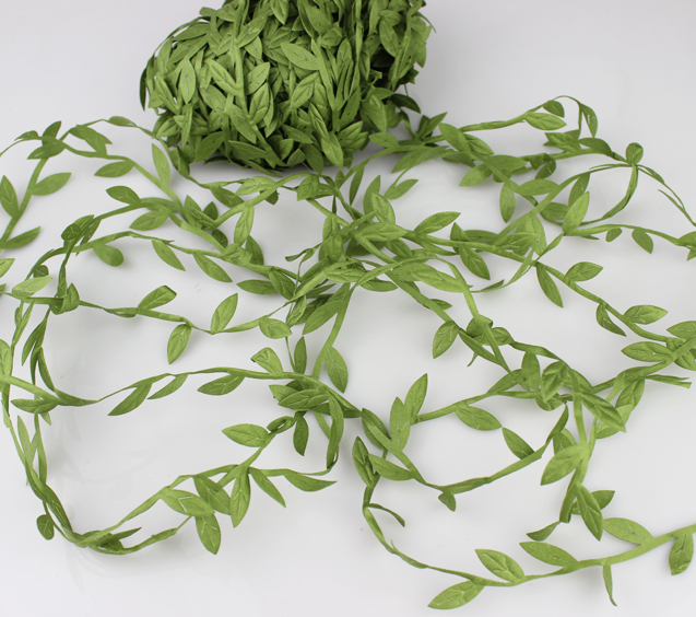 Гаджет  Free shipping 20m Artificial Green Flower Leaves Rattan DIY Garland Accessory For Home Decoration None Дом и Сад