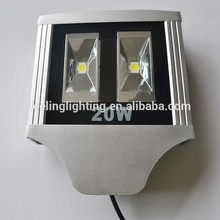 High brightness driver 2 years warranty led street light 20w waterproof for garden(China (Mainland))