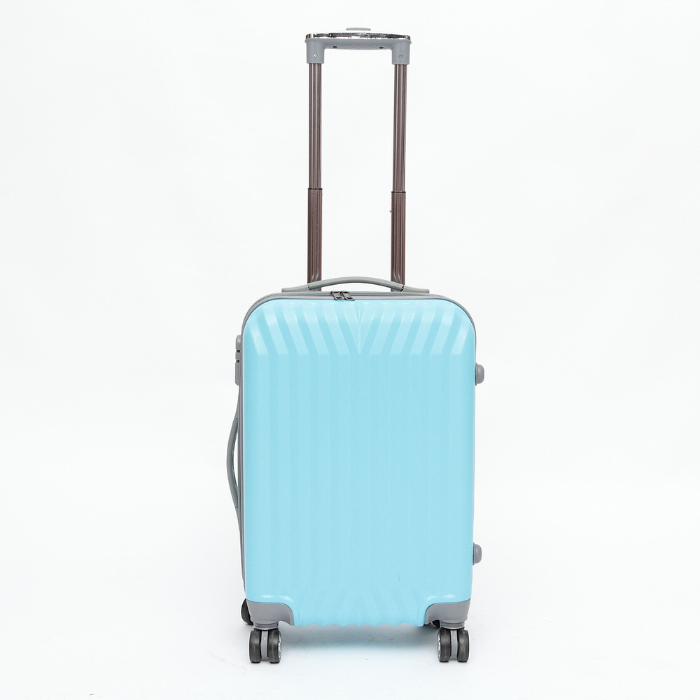 20'' 24'' Romatic Shell ABS Trolley Suitcase,Zipper,Hardside luggage,Rolling luggage