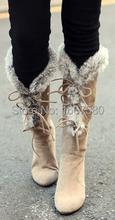 Cociy mujer 2015 de invierno Snow Boots Color sólido ronda Toe Lace Up Casual zapatos cómodos planos del talón nuevas llegadas invierno botas(China (Mainland))