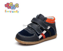 Free shipping 2015 cattle genuine leather toddler shoes  male children child shoes baby  beach boys girl sandal kids footwear(China (Mainland))