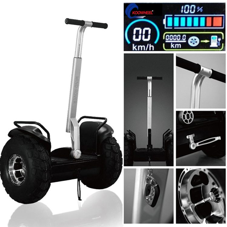 2016 Koowheel two Wheel self balancing scooter hover board stand 2000W powerful off road Motocross Motor