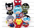 2016 plush doll The Avengers Super Hero Spiderman Superman Batman CaptainAmerica Ironman Action Figure collection gift