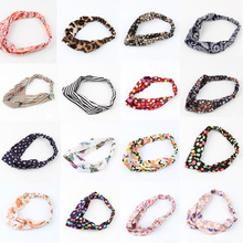 Newly Arrival Hot Sale Lovely Retro Cross Vintage Multi-colors Cloth Headband - 17 Styles HDR-0117(China (Mainland))