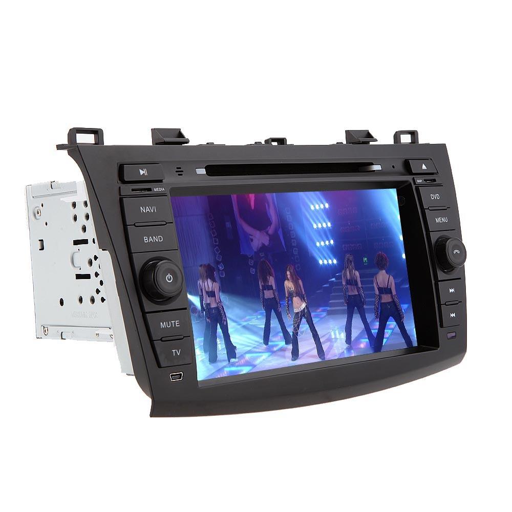 8 LCD Car DVD Player GPS Navigation in Dash Car Radio Double 2 Din PC Car