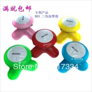 Health care Household  Equipment usb electric massager  Mini Full Body Massage head massager first generation skin roller relax