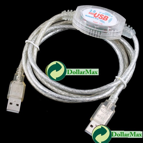 New arrive: High Speed USB 2.0 Network Link 480Mbps Data Transfer Cable Adapter New wholesale(China (Mainland))