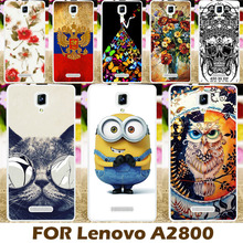 Buy Phone Case Cover Lenovo A1000 1000 A2800 Cases Covers A2800-D A2800D Shell Fashional Despicable Yellow Minion Coque for $1.68 in AliExpress store