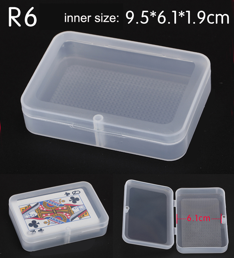 Free Shipping 50pcs/lot Plastic Storage PP Boxes Square component Jewelry Tools Flip Boxes(China (Mainland))