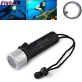 High Quality Underwater 1200LM CREE XM L T6 LED Diving Flashlight Torch Lamp Light Waterproof lantern