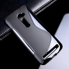 Soft S Line TPU Mobile Phone Cases Asus Zenfone 2 ZE500CL 2E Z00D Zenfone2 5.0 Inch Shell Back Cover Anti Skid - TAOYUNXI 3C Products Mall store