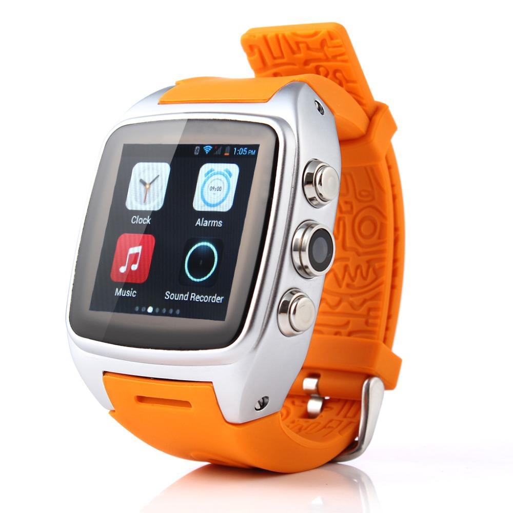 Newest Smart Watch Phone Android 4.2.2 OS 3G/GSM/WCDMA GPS Waterproof 5.0 MP Camera Smart Watch Phone(China (Mainland))