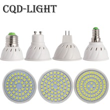 Buy CQD-LIGHT E27 E14 MR16 GU10 Lampada LED Bulb 110V 220V Bombillas LED Lamp Spotlight 48 60 80 LED 2835 Spot cfl Grow Plant Light for $1.14 in AliExpress store