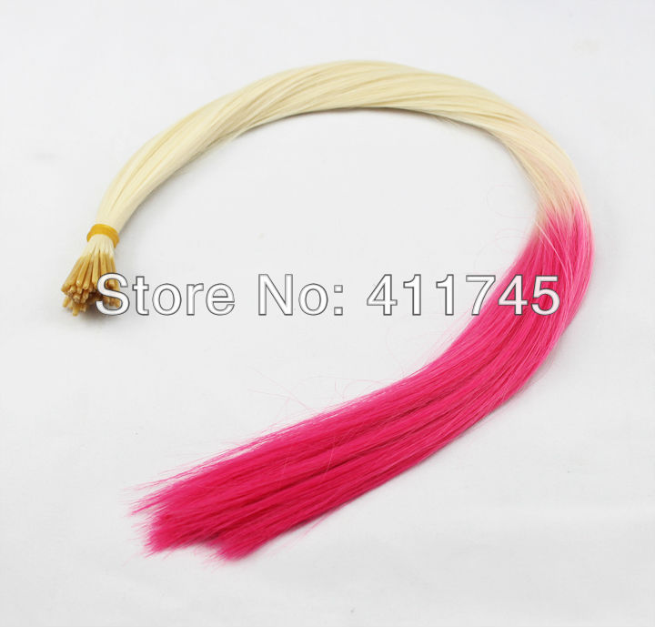 Free shipping 100pcs/set 16 Gradient Ombre Style feather Synthetic Hair Extension for you nice hair,mix-colors<br><br>Aliexpress