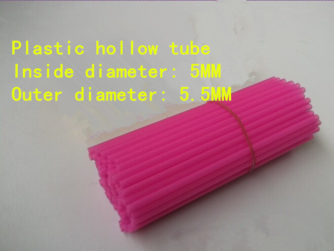 Plastic hollow tube tube architectural model making materials DIY toy parts inside diameter 5MM