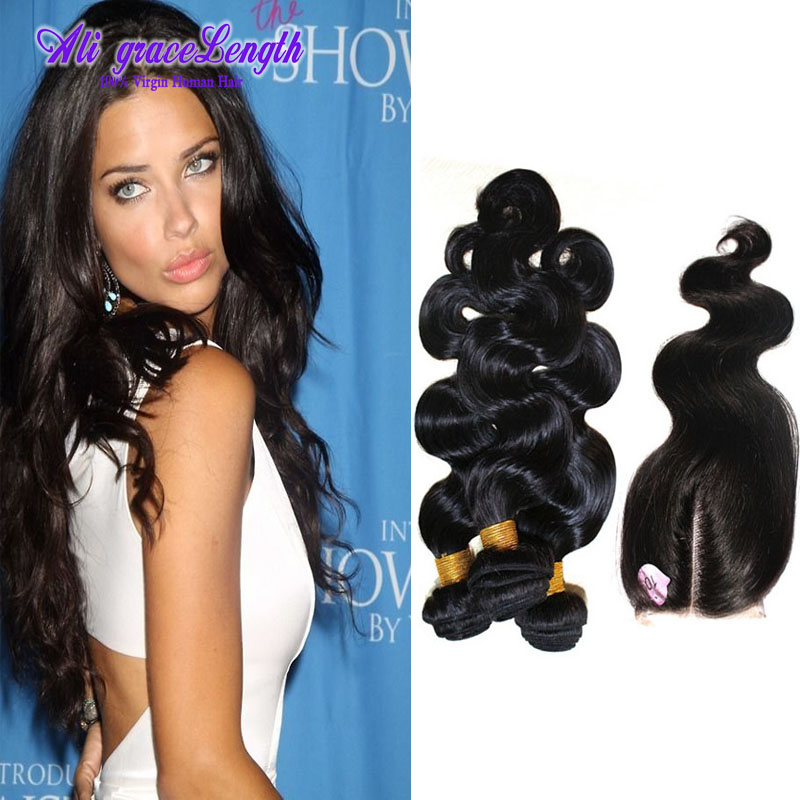 Queen Hair Products Brazilian Virgin Hair With Closure Brazilian Bodywave Lace Closure Hair Bundles Brazillian Hair weave coupon