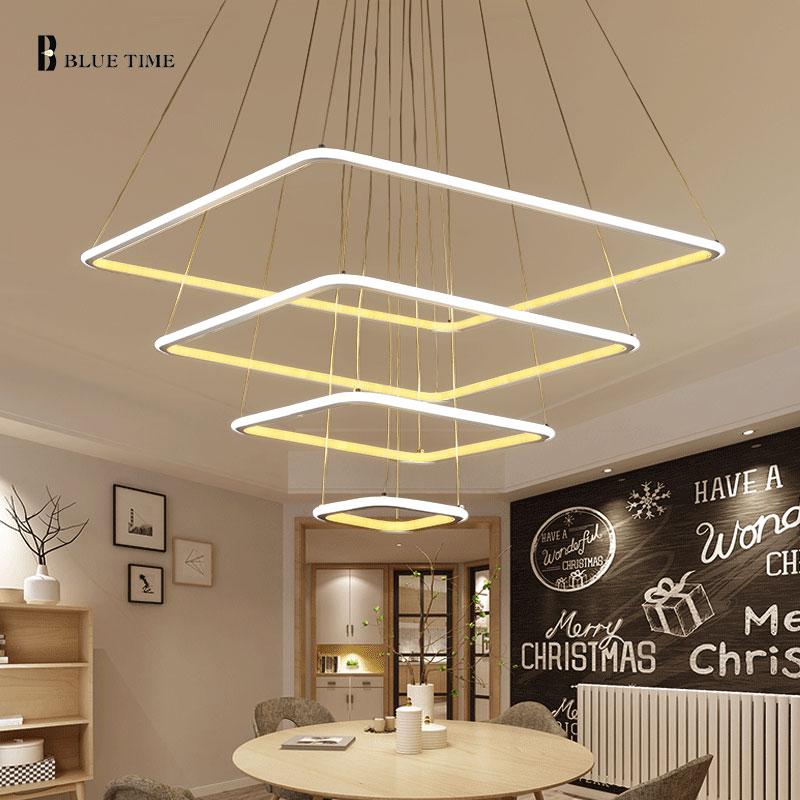 Achetez en gros carr pendentif lampe en ligne des for Gros luminaire suspendu