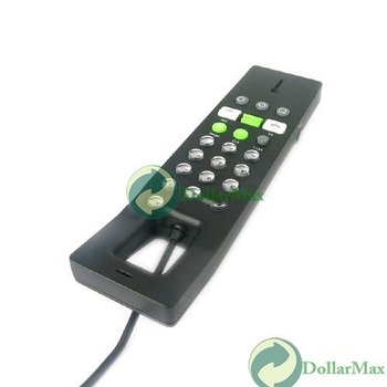 Free shipping: USB Phone Telephone Internet Skype VOIP Handset for PC 03 wholesale