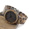 BOBO BIRD Wooden Watches Wood Men Wristwatches with Wooden Band Japan Move 2035 Quartz Wood Watch