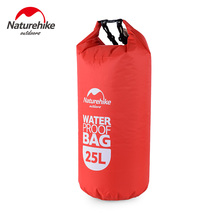 Naturehike Waterproof Rafting Bag 4 Colors Outdoor Nylon Kayaking Storage Drifting Dry Ultralight Swimming Bag 2L 5L 15L 25L(China)