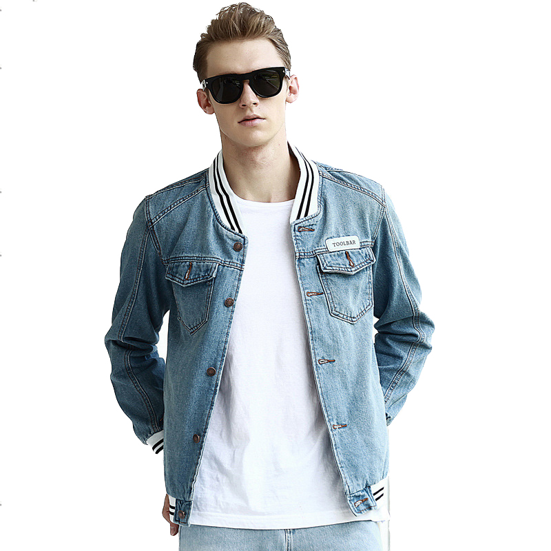Jeans Bomber Jacket | Outdoor Jacket