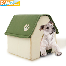 Dog House Red and Green Pet Kennel New Design Easy to Take and Packaged Puppy Cat Room Funny High Quality Beds Free shipping(China (Mainland))