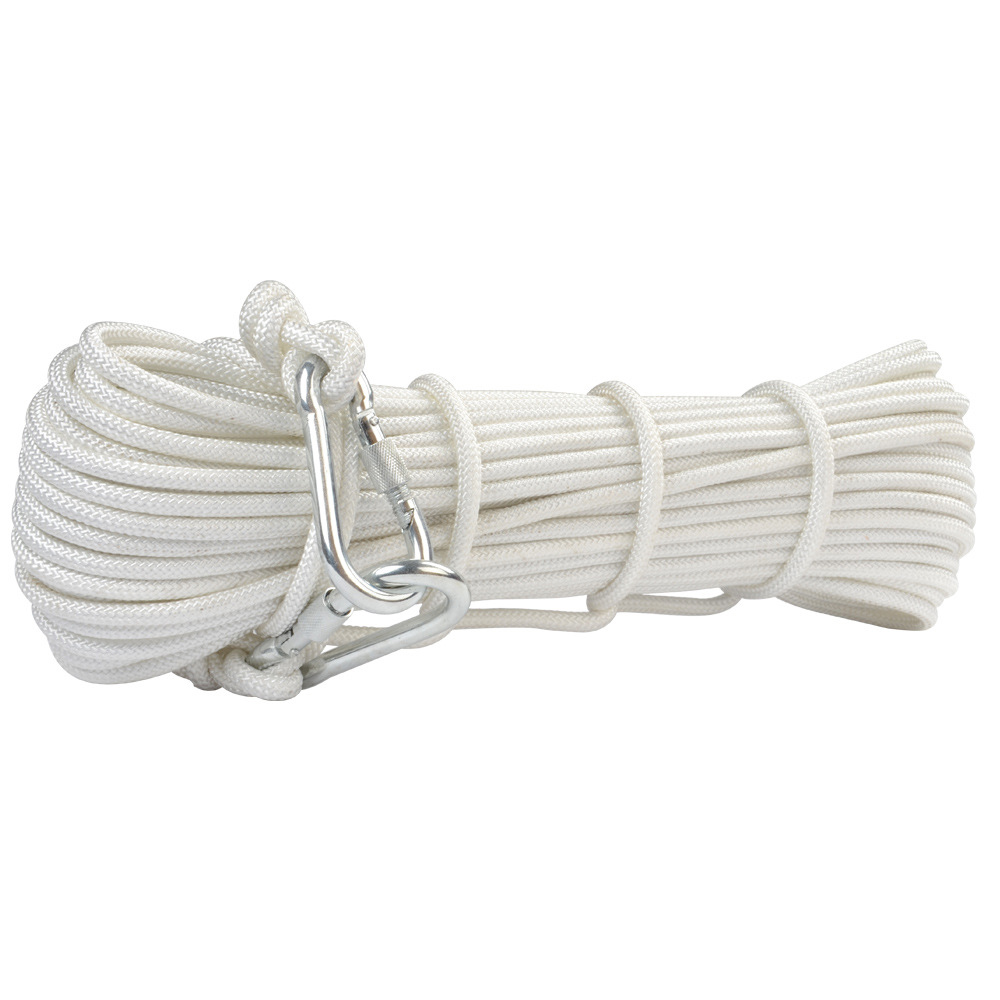 10M/Lot Fireproof rope Family Rescue Rope 8mm Diameter Climbing Survival rope Steel Wire Cord Safety Ropes LXDQJ-73(China (Mainland))