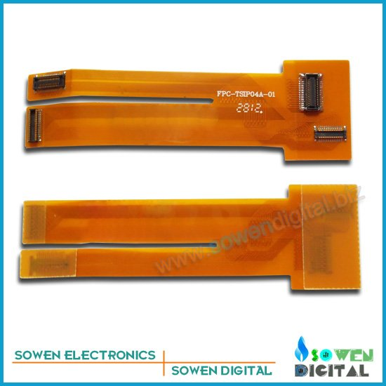 extension test cable for iphone 4 4G 4S Test LCD touch screen digitizer flex cable,Protect connector,free shipping(China (Mainland))