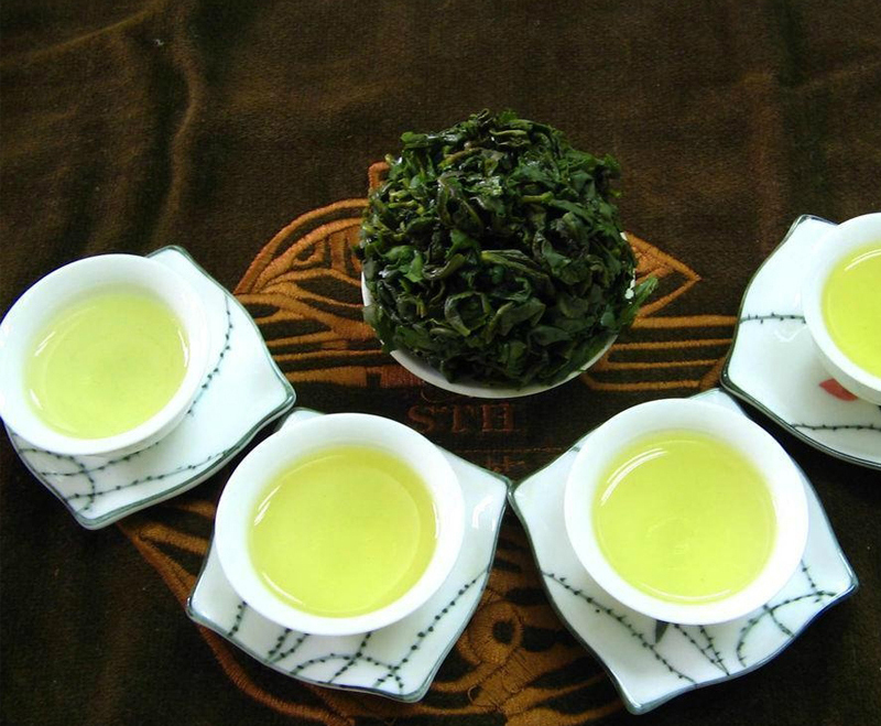 New 2015 Oolong Tie guan Chinese Green Tea Oolong Tikuanyin boutique Natural Food Gift box packaging