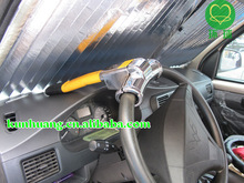 [New Hot] good-General Paul T-type car steering wheel lock HYB-T110a plating section(China (Mainland))