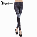 You re My Secret Fashion Woman Printed Leggings Starry Sky Midnight Woods leggins Fashion Sexy