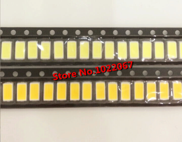 200pcs/LOT free shipping 5630/5730-WW 0.5W 50-55lm 6500K White Light SMD 5730 5630 LED chip lamps- (3.2~3.4V / 200 PCS)(China (Mainland))