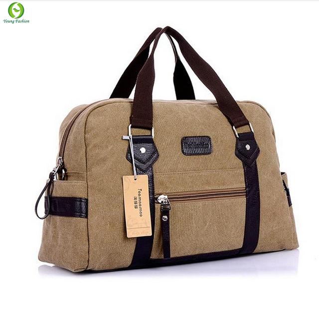 Новинка мужчины женщины сумочку свободного покроя холст путешествия сумки спортивный ...