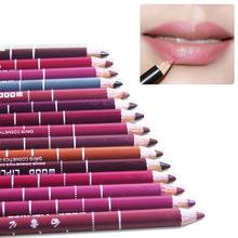 1pcs Waterproof Lip Liner Pencil 15CM many Colors Women's Professional Long Lasting Lip liner pen makeup New(China (Mainland))
