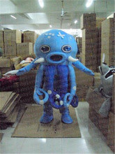 blue octopus mascot costume halloween costumes party costume dinosaurs fancy dress christmas kids gift surprise