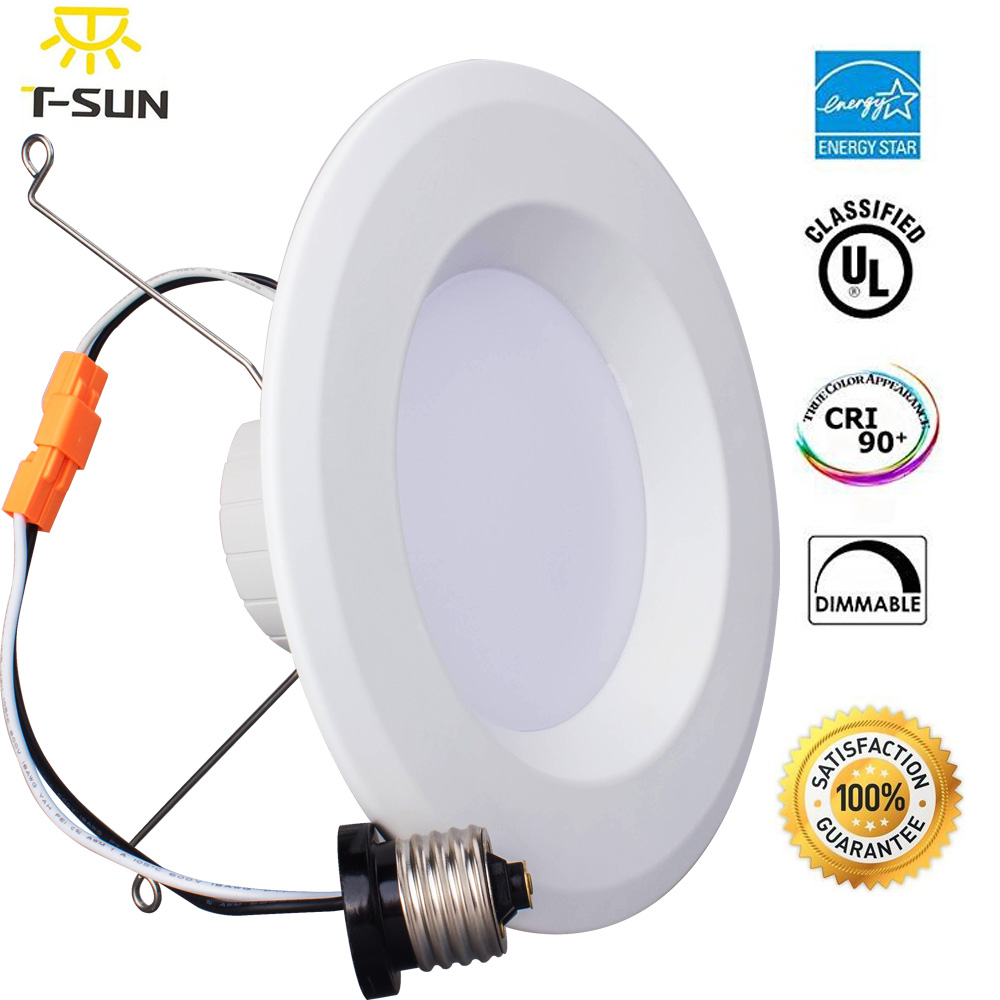 5&6 Inch Dimmable LED Down light Energy Star ETL 20W 3000K Warm White Retrofit LED Recessed Lighting Fixture LED Ceiling Light(China (Mainland))