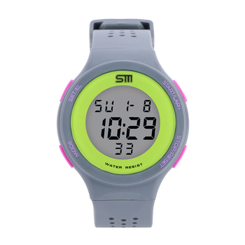 Fashion SM Brand Sports Watch Alarm Military Digital LED Watches For Men and Women Multifunctional Casual Wristwatches