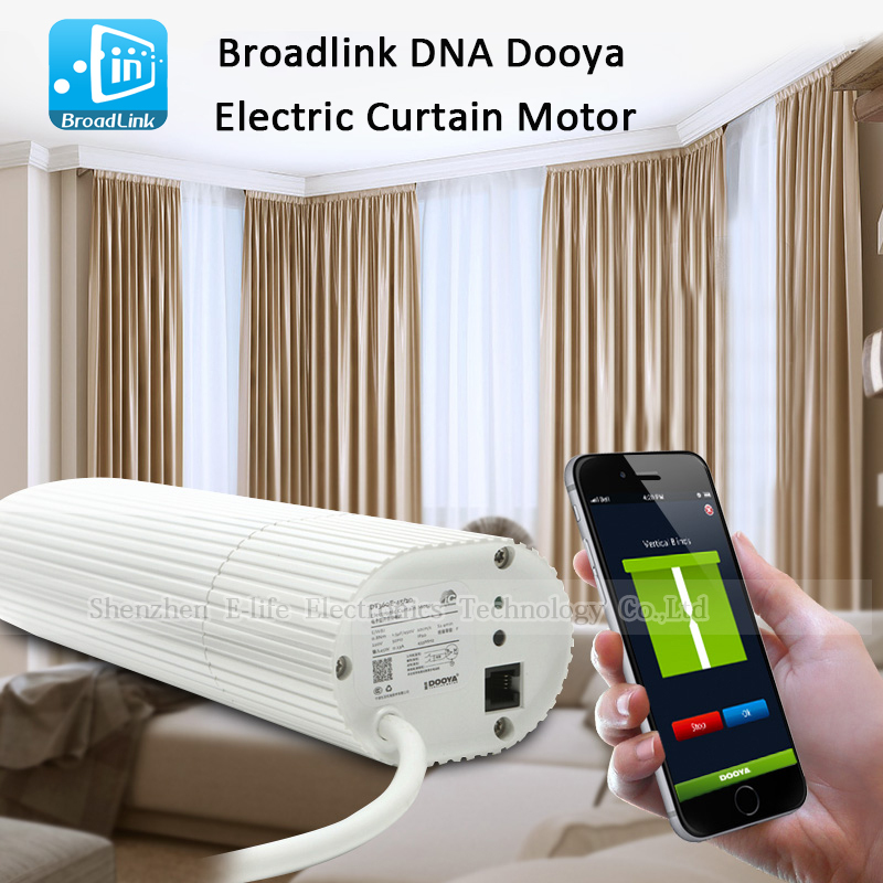 Broadlink DNA Dooya Electric Curtain Motor WIFI Remote Control IOS Android For Smart Home etc(China (Mainland))