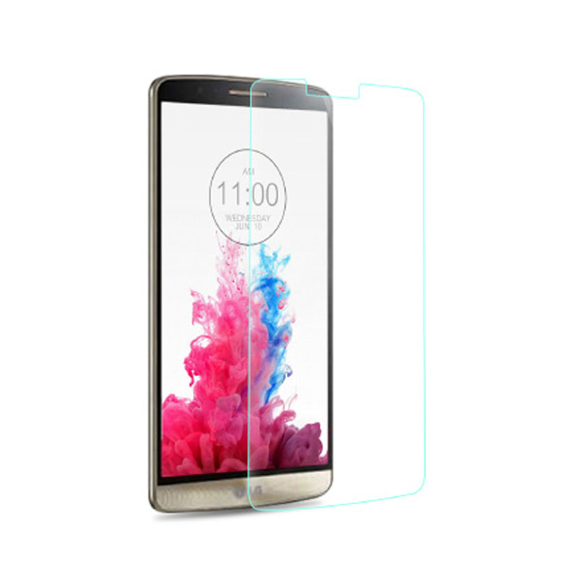 0.3mm 2.5D Tempered Glass Film Explosion Proof Screen Protector For LG G2 G3 Stylus G3S G4 Mini LG G Flex 1 GFlex 2 cover Film(China (Mainland))