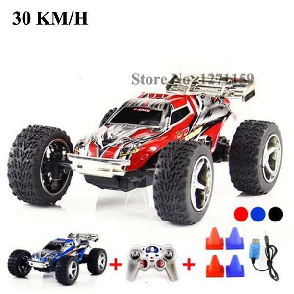 WL2019 high speed remote control car 30km / h variable speed off-road vehicles Cool toy birthday gift RC SUVS free shipping(China (Mainland))