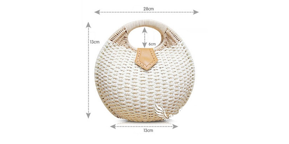 Rattan Women Bag Snail\`s Nest Tote Summer Beach Handbags Female Small Top-handle Bags Herald Fashion sac a main bolsa feminina