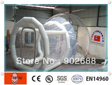 Free shipping!!!  hot selling large inflatable bubble tent transparent For sale (China (Mainland))