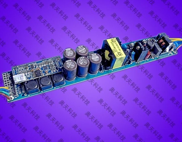 LED RGB constant current driver;AC110V/220V input;RGB*6*3W/640ma output;size:210*34*23mm;P/N:AT2201A