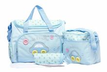 4pcs set PROMOTION Diaper Bags Designer Maternity Nappy Bags Mummy Baby Bag