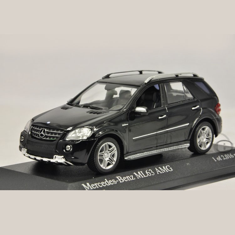1:43 Mini Minichamps Mercedes Benz Benz ML63 AMG 2008 model cars(China (Mainland))