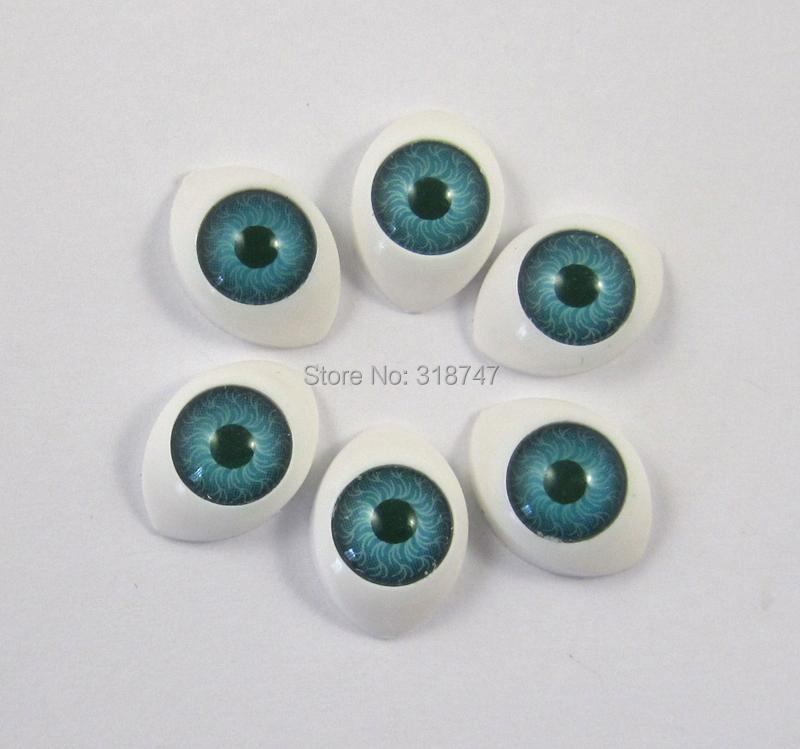 Гаджет  Free shipping Wholesale 10*14.5mm Toy Eye Doll Eyes Wiggle Eyes Diy Plastic Eyes 60pcs/lot  011081 None Игрушки и Хобби