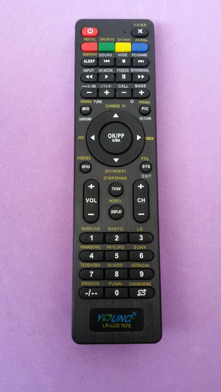 Universal remote control for HAIER VESTEL GRUNDIG SHIVAKI AKIRA LCD Television(China (Mainland))