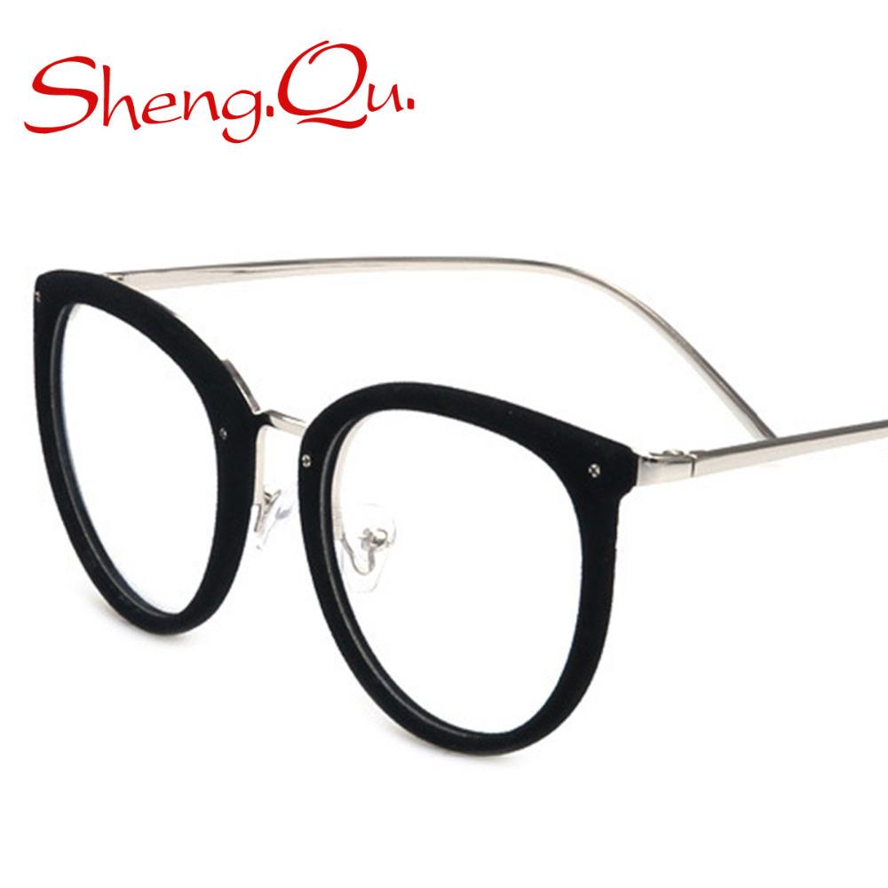 Fashio! Women Glasses Frame Elegant Decoration Eyeglasses ...