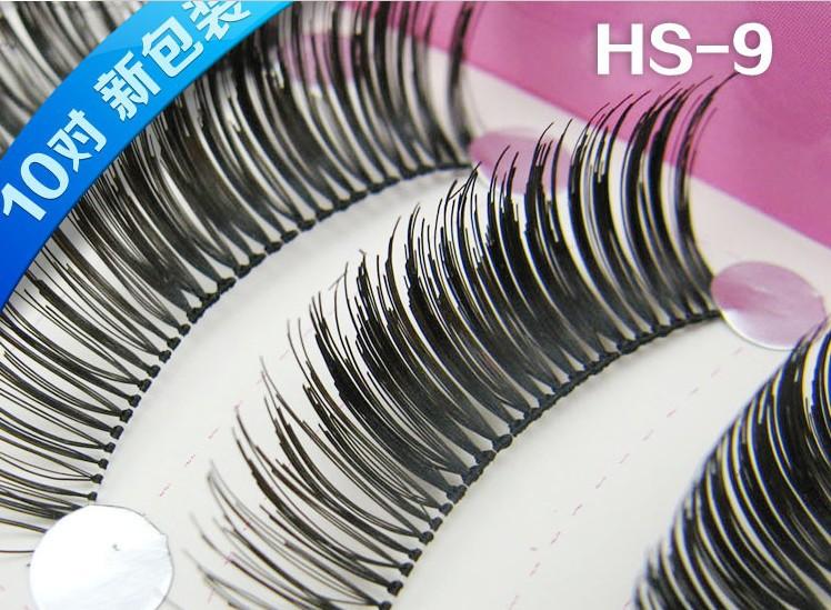 10pairs Natural Long Party Nightclub Makeup False Eyelashes Eyelash Extension Fake Eye Lashes Daily Career Make Up(China (Mainland))