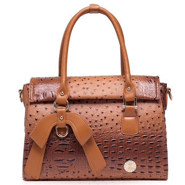 New ostrich pattern women handbag crossbody bag fashion shoulder bag hot sale bolsas top PU leather women messenger bags 2015(China (Mainland))